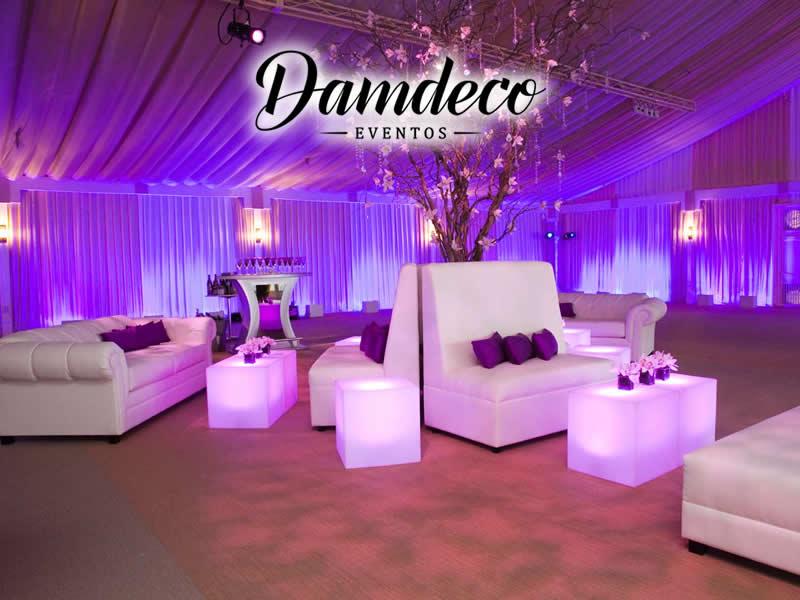 Damdeco eventos alquiler y venta de muebles for Alquiler muebles para eventos